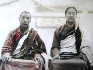 Chatral Rinpoche and Dudjom Rinpoche