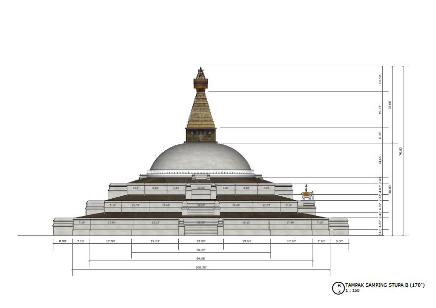 samping-stupa